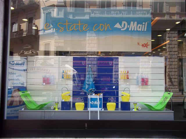 Negozio D-mail a Torino